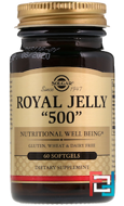 "Royal Jelly ""500"", Solgar, 60 Softgels"
