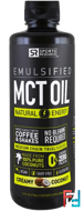 Emulsified, MCT  Oil, Creamy Coconut, Sports Research, 16 fl oz (473 ml)