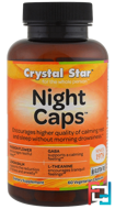 Night Caps, Crystal Star, 60 Veggie Caps