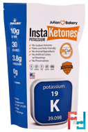 InstaKetones Potassium, The Julian Bakery, 0.91 lbs (414 g)