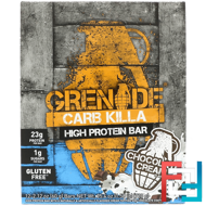 Carb Killa, High Protein Bar, Chocolate Cream, Grenade, 12 Bars, 2.12 oz (60 g) Each