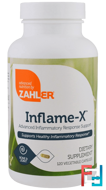 Inflame-X, Advanced Inflammatory Response Support, Zahler, 120 Vegetable Capsules