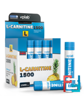 L-Carnitine 1500 mg, VP Laboratory, 20 apm * 25 ml