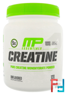 Creatine Essentials, Unflavored, MusclePharm, 1.32 lbs, 600 g