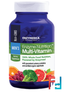 Enzyme Nutrition Multi-Vitamin, Men's, Enzymedica, 120 Capsules