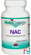 NAC, Nutricology, 90 Tablets