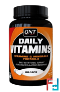 Daily Vitamins, QNT, 60 tablets
