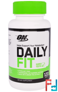 Daily Fit, Optimum Nutrition, 120 Capsules