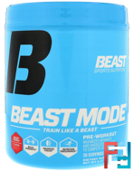 Nutrition, Beast Mode Pre-Workout, Beast Sports Nutrition, 8.47 oz, 240 g