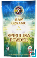Raw Organic Spirulina Powder, Earth Circle Organics, 4 oz, 113 g