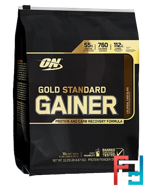Gold Standard Gainer, Optimum Nutrition, 10 lb, 4670 g