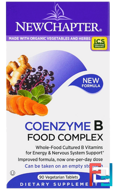 Coenzyme B Food Complex, New Chapter, 90 Veggie Tabs