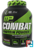 Combat Protein Powder, MusclePharm, Sport Series, 4 lbs, 1814 g