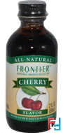 Cherry Flavor, Frontier Natural Products, 2 fl oz, 59 ml
