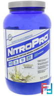 NitroPro, Hydrolyzed Protein, Hi Tech Pharmaceuticals, 2 lbs, 907 g