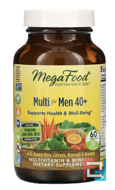 Multi for Men 40+, MegaFood, 60 Tablets