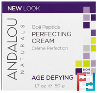 Perfecting Cream, Goji Peptide, Age Defying, Andalou Naturals, 1.7 fl oz, 50 ml
