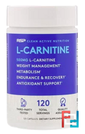 L-Carnitine, RSP Nutrition, LLC, 120 Capsules