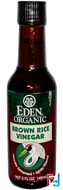 Organic Brown Rice Vinegar, Eden Foods, 5 fl oz (148 ml)
