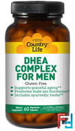 DHEA Complex for Men, Country Life, 60 Veggie Caps