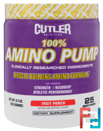 Amino Pump, Cutler Nutrition, 9.3 oz, 263 g
