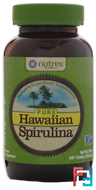 Pure Hawaiian Spirulina Pacifica, Nature's Multi-Vitamin, Nutrex Hawaii, 500 mg, 400 Tablets