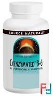 Coenzymated B-6, 25 mg Sublingual, Source Naturals, 120 Tablets