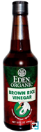 Organic, Brown Rice Vinegar, Eden Foods, 10 fl oz (296 ml)