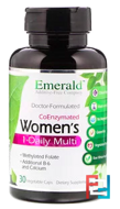 CoEnzymated Women's Multi Vit-A-Min, Emerald Laboratories, 30 Veggie Caps