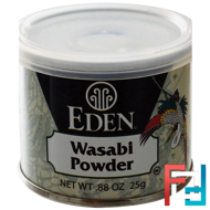 Wasabi Powder, Eden Foods, .88 oz (25 g)