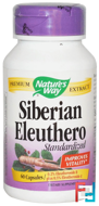 Siberian Eleuthero, Standardized, Nature's Way, 60 Capsules