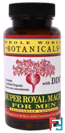Super Royal Maca For Men, Whole World Botanicals, 500 mg, 90 Vegetarian Capsules