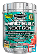 Amino Build Next Gen Energized, Muscletech, 280 g