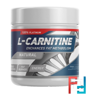 L-Carnitine Powder, GeneticLab, Unflavored, 150 g