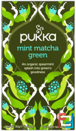 Mint Matcha Green Tea, Pukka Herbs, 20 Green Tea Sachets, 0.05 oz, 1.5 g