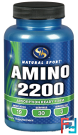 Amino 2200, Natural Sport, 90 tablets
