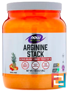 Arginine Power Super Stack, Now Foods, 1000 g