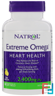 Extreme Omega, 2,400 mg, Natrol, 60 Softgels