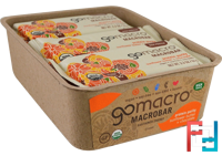 Macrobar, Protein Purity, Sunflower Butter + Chocolate, GoMacro, 12 Bars, 2.3 oz (65 g) Each