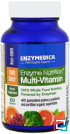 Enzyme Nutrition Multi-Vitamin, Enzymedica, 60 Capsules