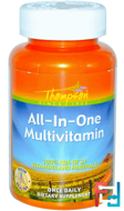 All-In-One Multivitamin, Thompson, 60 Veggie Caps