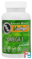 Omega 3, Advanced Orthomolecular Research AOR, 60 Softgels