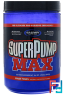SuperPump Max, The Ultimate Pre-Workout Supplement, Gaspari Nutrition, 1.41 lbs, 640 g