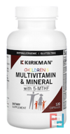 Children's Multi Vitamin/Minerals with 5-MTHF, Kirkman Labs, 120 Capsules