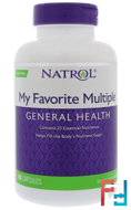 My Favorite Multiple, Original, Multivitamin, Iron-Free, Natrol, 180 Capsules