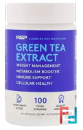 Green Tea Extract, RSP Nutrition, LLC, 500 mg, 100 Capsules