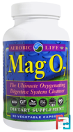 Mag 07, The Ultimate Oxygenating Digestive System Cleanser, Aerobic Life, 90 Veggie Caps