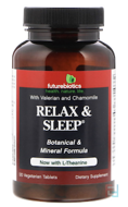 Relax & Sleep, FutureBiotics, 60 Veggie Tabs