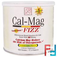 Cal-Mag Fizz, Lemon-Lime Flavor, Baywood, 17.4 oz, 492 g