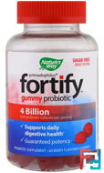 Primadophilus, Fortify, Gummy Probiotic, Sugar-Free, Nature's Way, 60 Berry Flavored Gummies